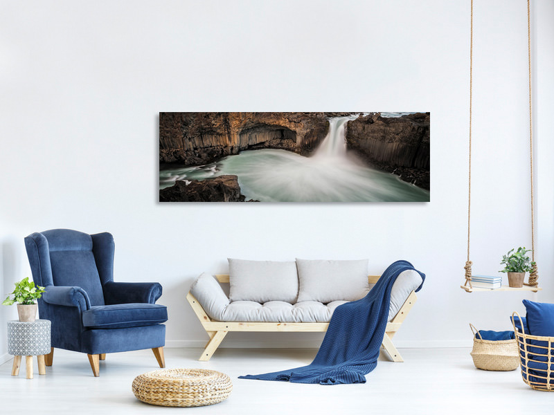 Panoramic Canvas Print Afterglow