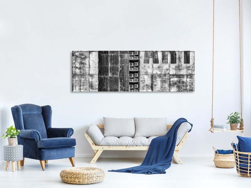 Panoramic Canvas Print Gritty Palace