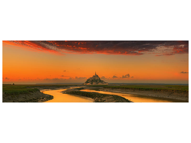 Tableau sur Toile Panoramique Evening Light A