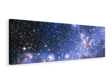 Canvasfoto panaoramaformaat Starry Sky