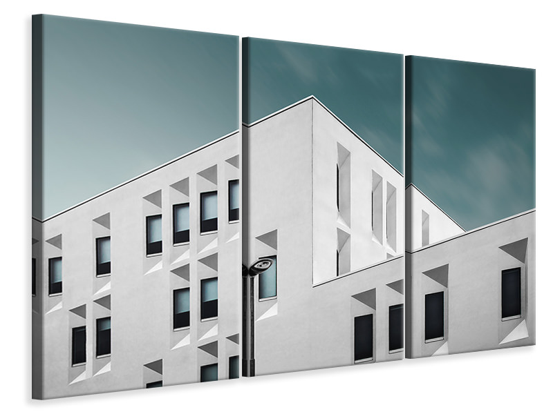 3 Piece Canvas Print The Rental House