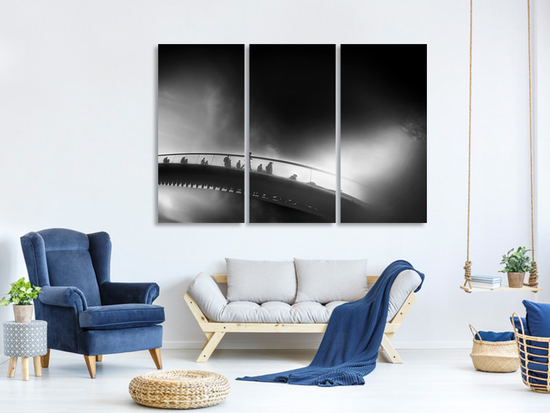 3 Piece Canvas Print The Cycle