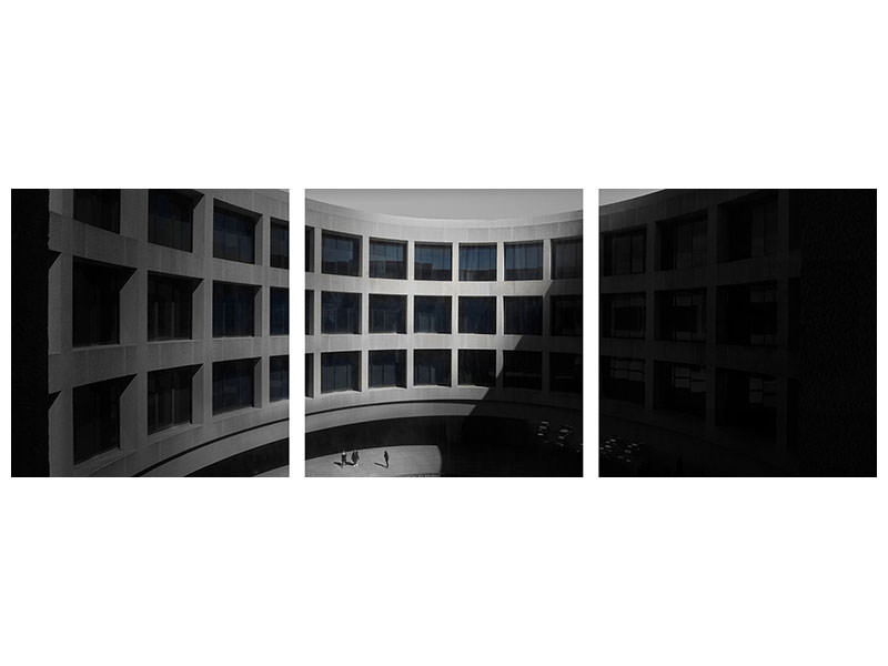 Panoramic Canvasfoto 3-delig Hirshhorn Museum