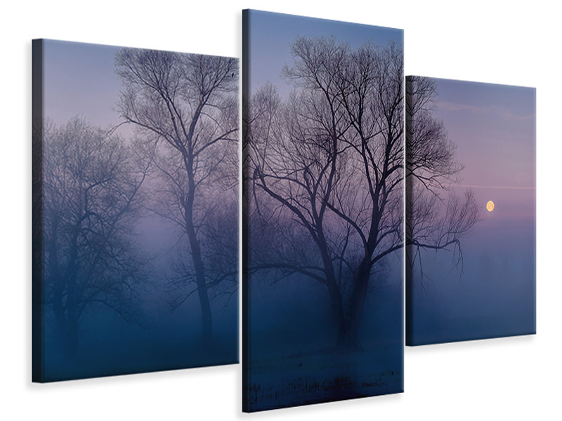 Modern 3 Piece Canvas Print Another New Day