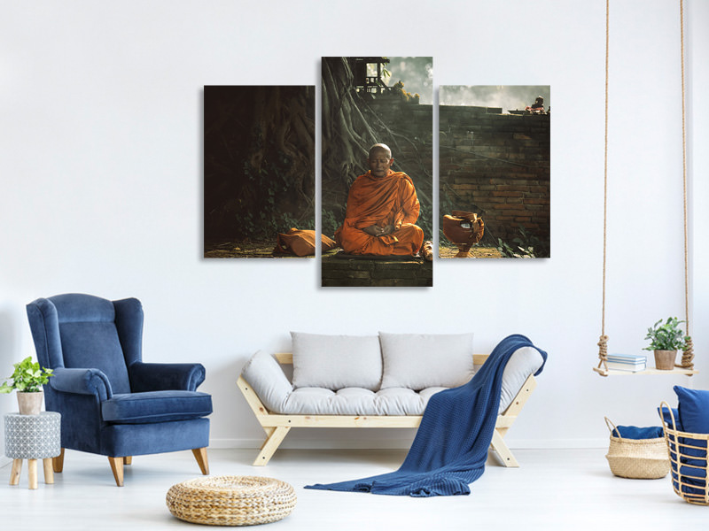 Modern 3 Piece Canvas Print No17