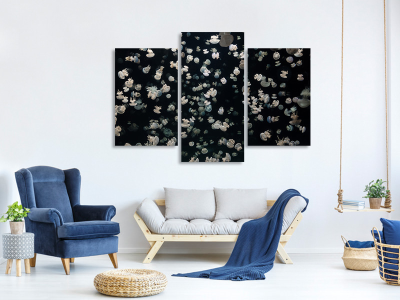 Modern 3 Piece Canvas Print Just Some Jellies