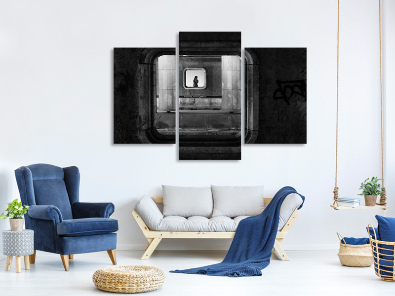 Modern 3 Piece Canvas Print Accessible Everywhere