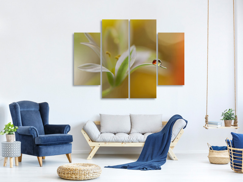 4 Piece Canvas Print Sound Of Colors