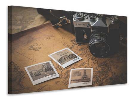 Canvas print Retro journey