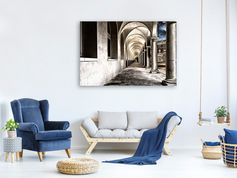 Canvas print Baroque passage