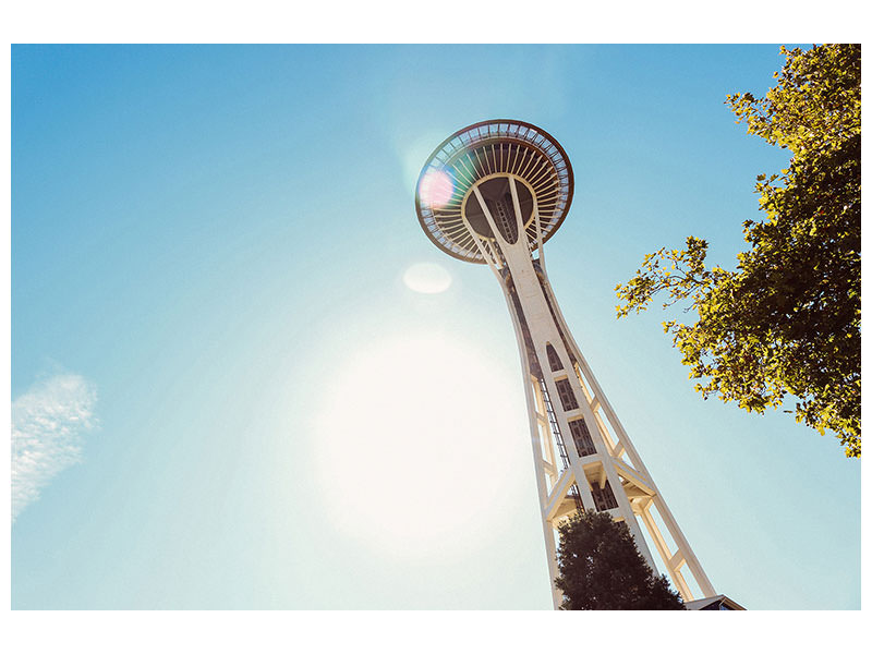 Canvas print Sunshine in Seattle