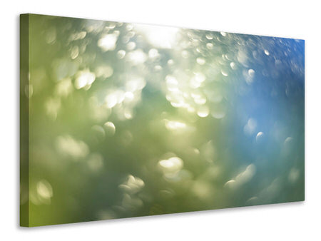 Canvas print Abstract points of light