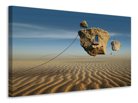 Canvasfoto Surreal Desert
