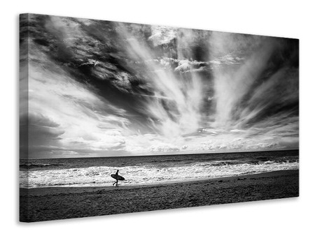 Canvasfoto The Loneliness Of A Surfer