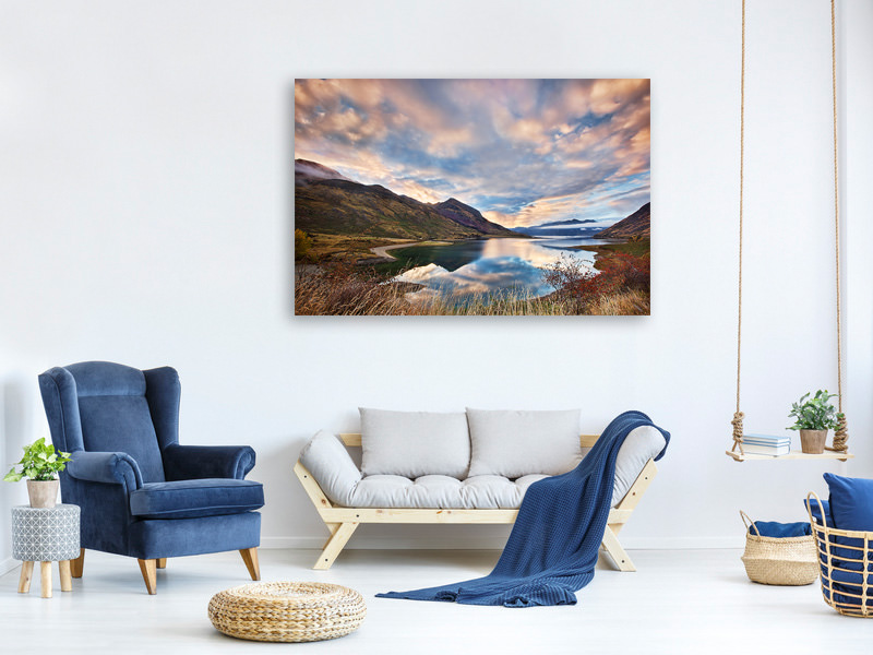 Canvas print Morning Delight At Lake Hawea