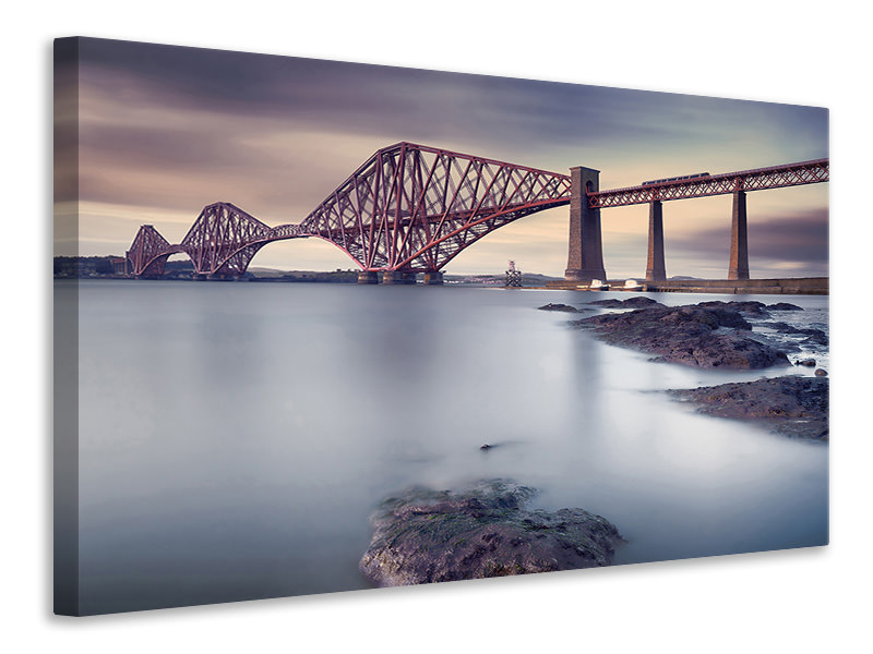 Canvasfoto Forth Rail Bridge