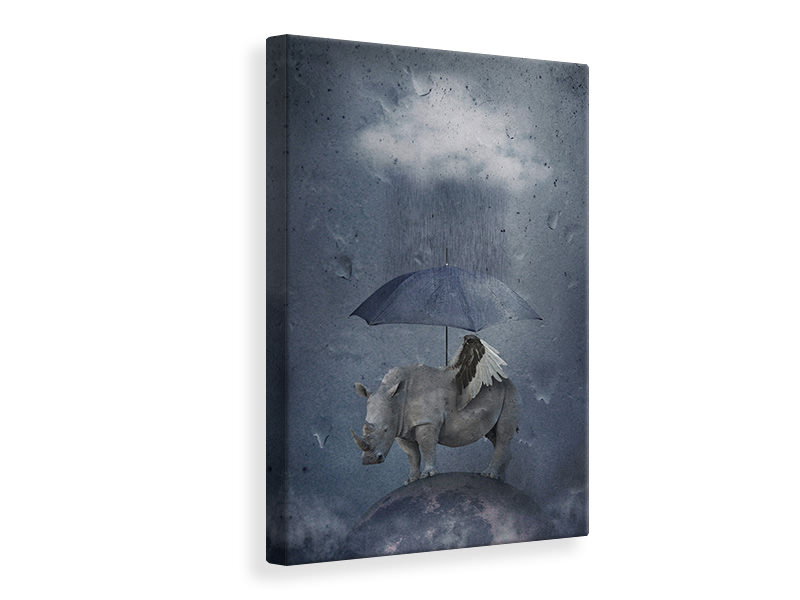 Canvas print Under The Rain