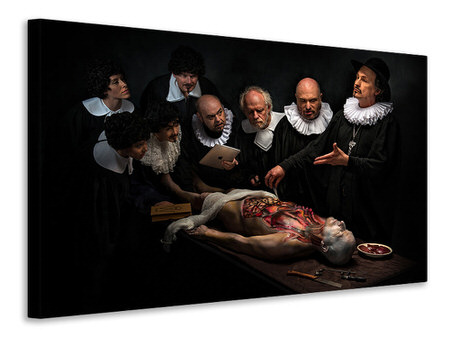 Canvas print Anatomy Lesson II