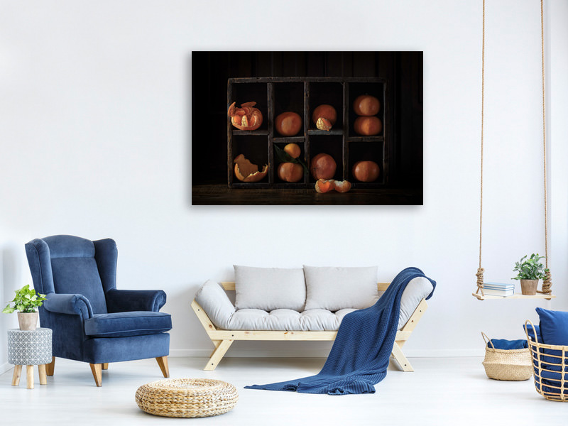 Canvas print Still Life With Oranges