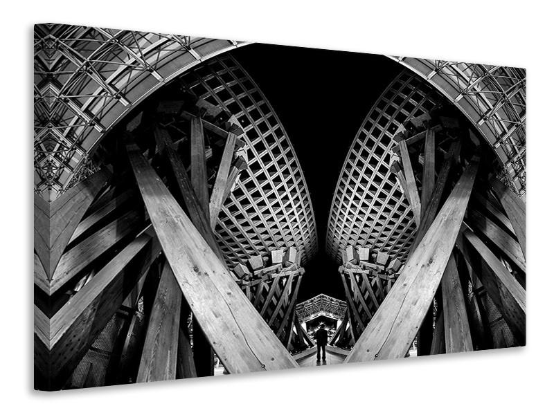 Canvasfoto Twist Gate