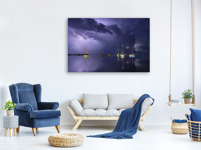 Canvas print Tropical Storm1
