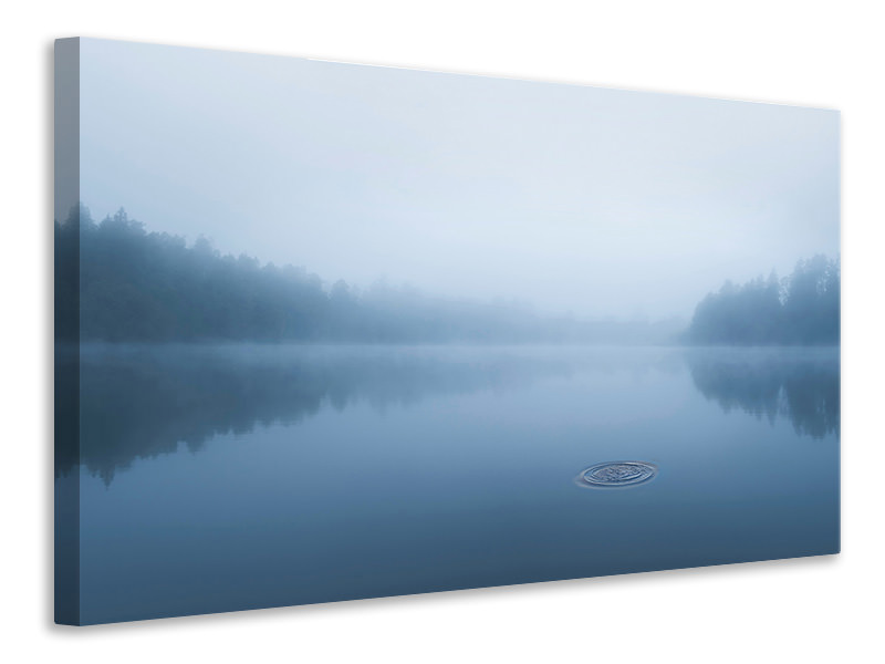 Canvas print Ripple In The Water