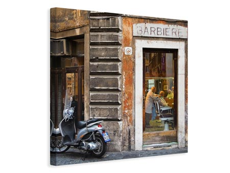Canvasfoto Barbiere