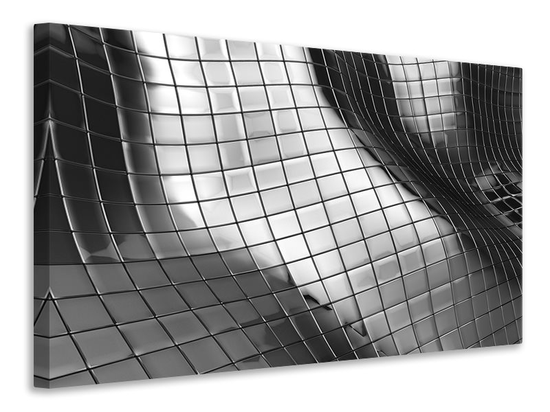 Canvas print Abstract Steel