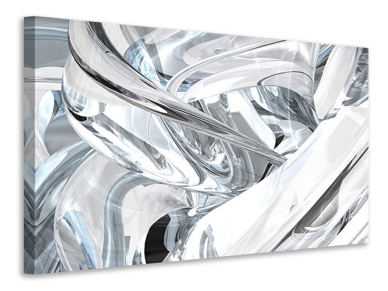 Canvas print Abstract Glass Webs