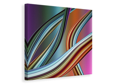 Canvas print Wave Equation