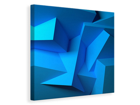 Canvasfoto 3D-Abstraction