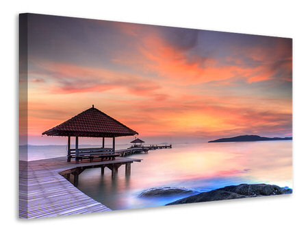 Canvas print Paradise Bridge