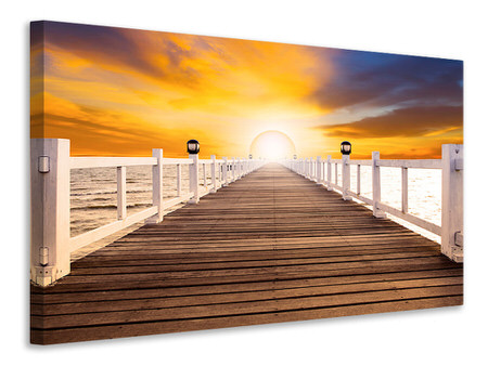 Canvas print The Bridge On Happiness