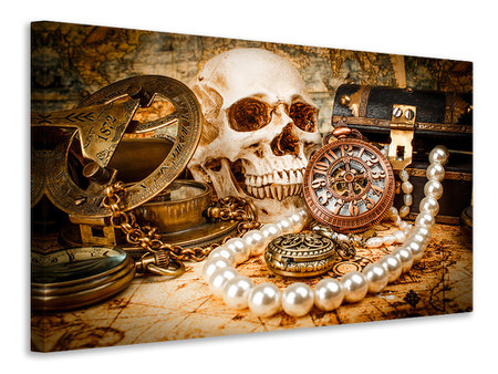 Canvas print Treasure Hunt