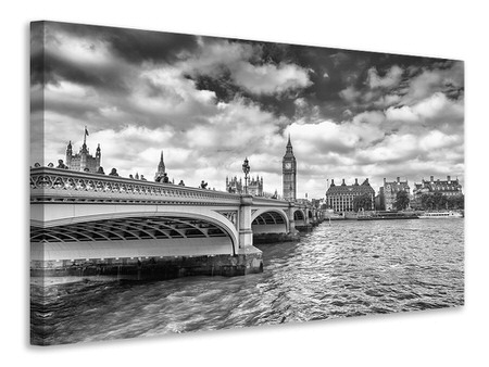 Canvas print Westminster Bridge