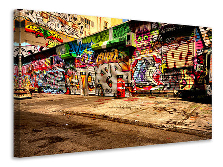 Canvasfoto Graffiti NY