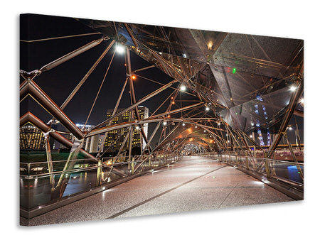 Canvas print Bridge Lights